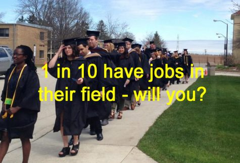 Graduates working in their field: a slim reality