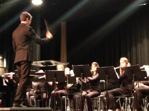 Video: Werner honored at Fall Band Concert