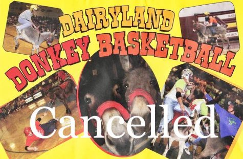 Donkey basketball cancelled