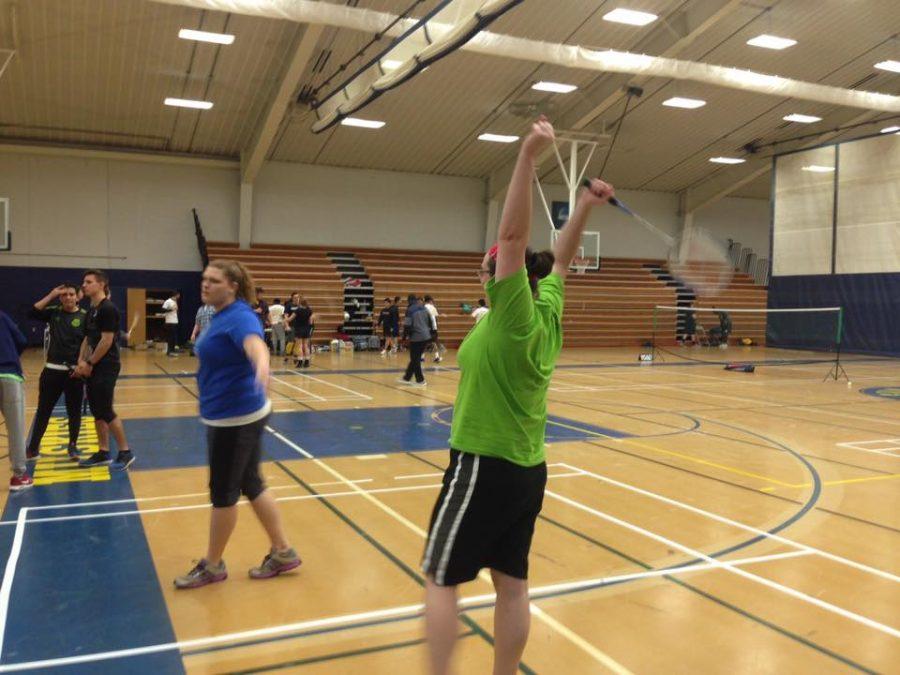 Gallery: Badminton doubles tournament reaches midpoint