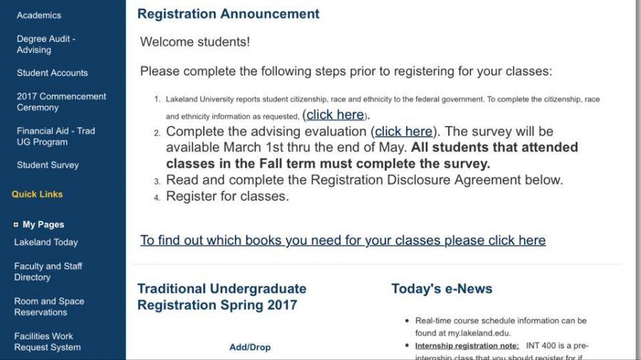 Registration on the horizon