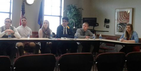 Next year's SGA candidates discuss visions