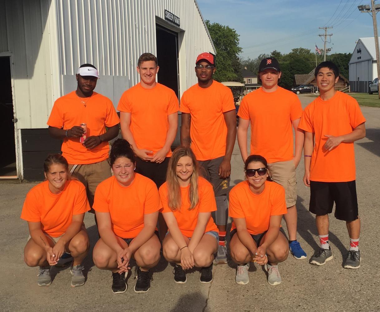 Lakeland students volunteer at Acuity Picnic