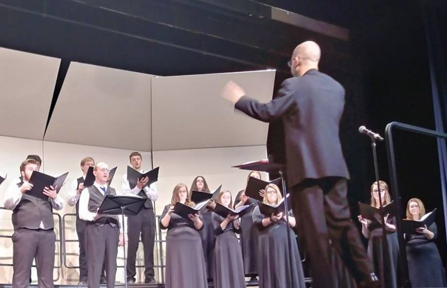 "Guarente leads ""eclectic"" choir concert"
