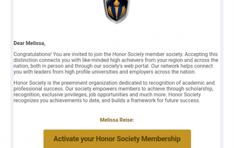 Honor Society scam hits Lakeland emails