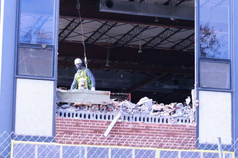 Gallery: Campus center walls come down