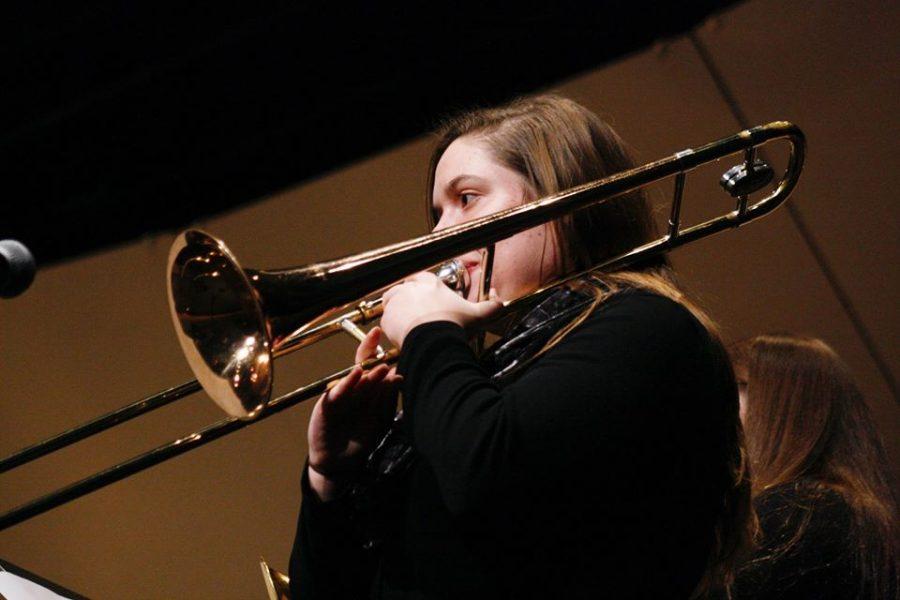 Gallery: Students serenade at jazz concert