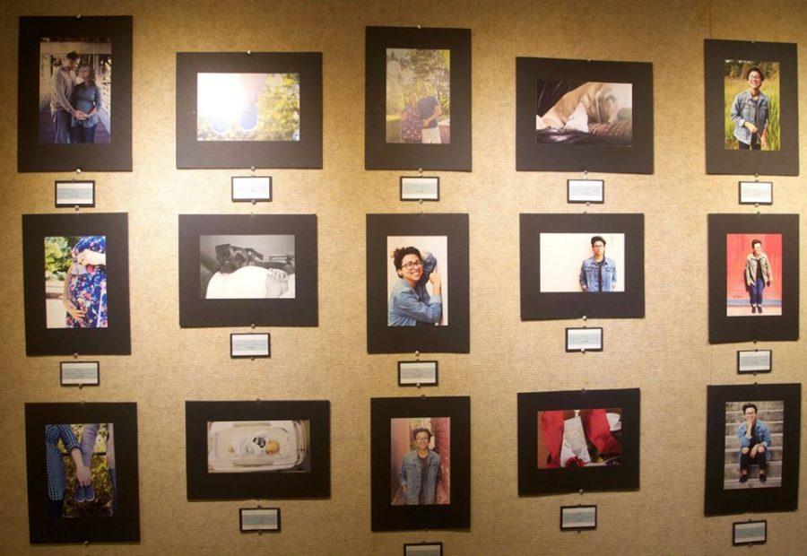 Gallery: Work from three senior art majors displayed