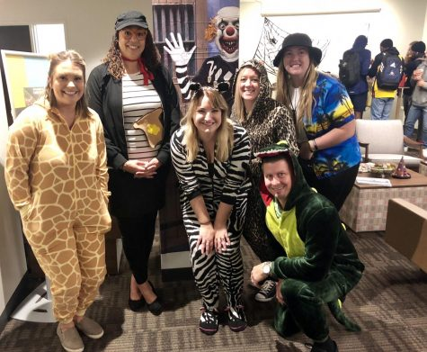 Student Success Team gets spooky for Halloween