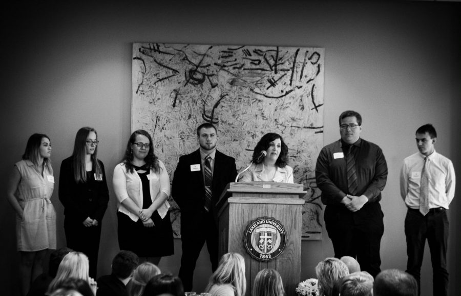 Lakeland University Honor Banquet Awards