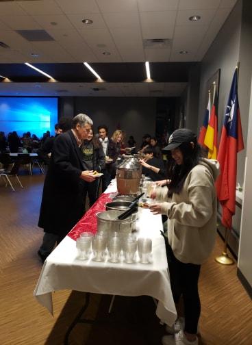 GSA Hosts International Food Festival