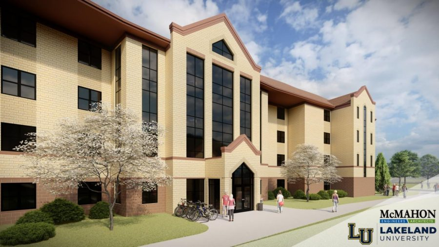 New Resident Halls Groundbreaking