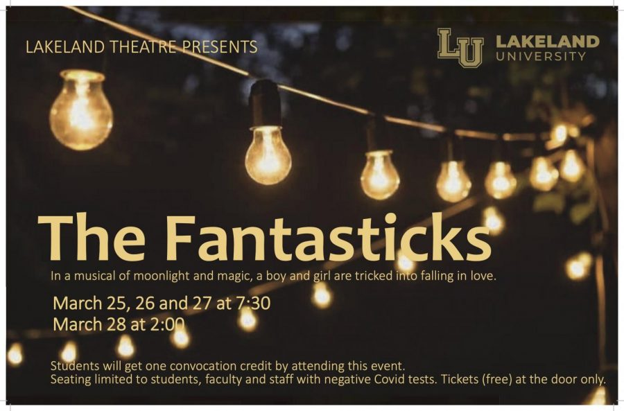 Official Fantasticks Poster
