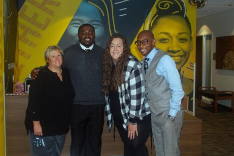 Well-known members of the Lakeland Success Office: LaJill Edge (left), Corey Roberson (middle left), Alli Vanstelle (middle right), and Mark Edmond (right).